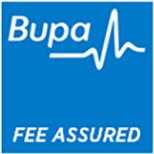 BUPA Fee Assured Logo